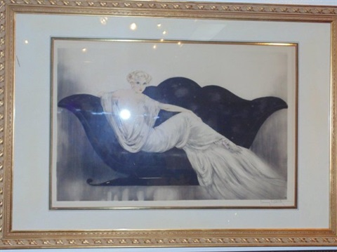 le sofa by louis icart