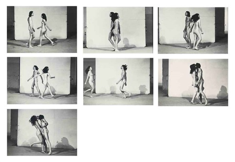relation in space 7 works by ulay marina abramovic