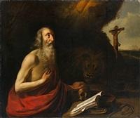 saint jerôme by hendrick van somer