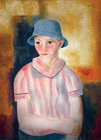 portrait by moïse kisling