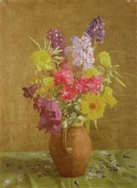 flower painting by allan gwynne-jones