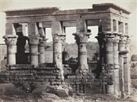egypte: temple de philae by wilhelm hammerschmidt