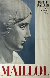 aristide maillol (1861-1944) exposition au petit palais anläßlich der weltausstellung by aristide maillol