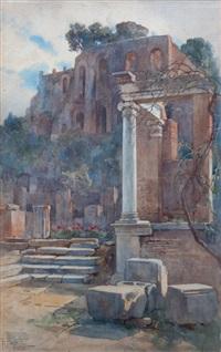 ruinas romanas by filippo anivitti