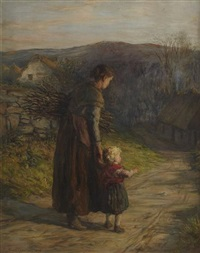 homewards with mother by hugh cameron