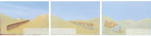 la fe mueve montañas in 3 parts by francis alÿs