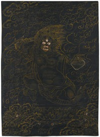 thangka of a wrathful deity by anonymous-tibetan (19)