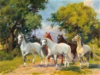 horses by leszek piaseck