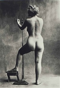 sculptors model, paris by irving penn