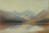 sgurr na lapaich (+ glen strathfarrar; pair) by george drummond fish