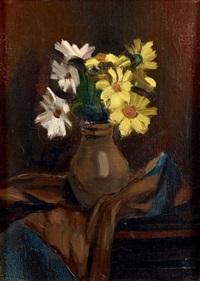 bouquet de marguerites by henri le fauconnier