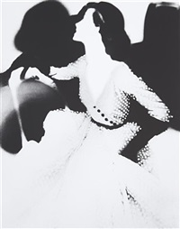 the cost of living, barbara mullen, dress by omar kiam for ben reig, new york by lillian bassman