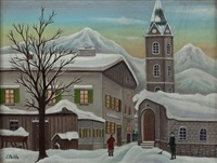 advent in tirol by josef pachta