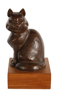 persian cat by barbara tribe