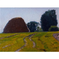 haystacks and fields by gary ernest smith