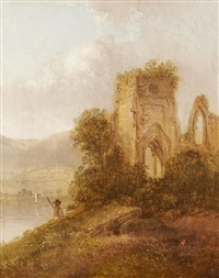 'thap monastery' and 'valley of the rhine': two works by thomas doughty
