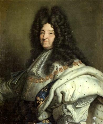 bd92222e807 Portrait de Louis XIV by Hyacinthe Rigaud on artnet