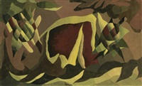 lattice and awning by arthur dove