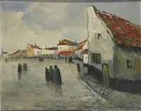 dorpsgezicht by jacques courtens