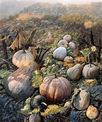 giant pumpkins by gao yuanhe