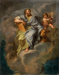 ascension de saint luc by d. francisco bayeu y subias