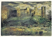 framlingham castle by john piper