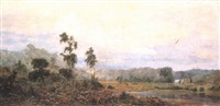 australian landscape by william ewart lockhart