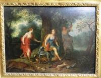 le retour de la chasse de diane by flemish school (17)