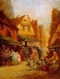 un marché en normandie by a. de gerville