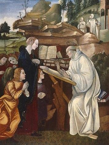 the vision of saint bernard by filippo (filippino) lippi