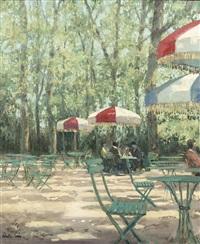 a parisian outdoor café by henry robertson craig