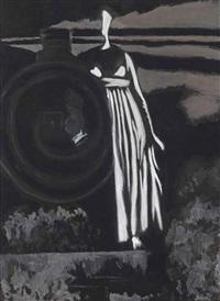 aurore. femme et locomotive by léon spilliaert