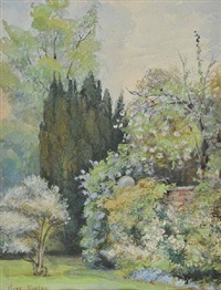 summer garden by rose maynard barton