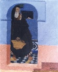 jeu de regards dans la médina de meknès by marcelle ackein