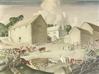 the farmyard by harry epworth allen