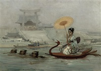 a japanese ferry by felix lenoir