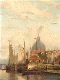 lutheran church by john frederik hulk the younger