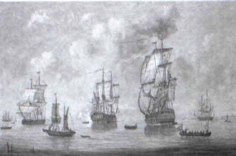 the battle of trafalgar by b ainstord