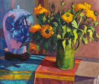 bouquet de soucis (bouquet of marigolds) by jean pesce