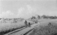 vägen och rågfältet by aleksei fedorovich afanas'ev