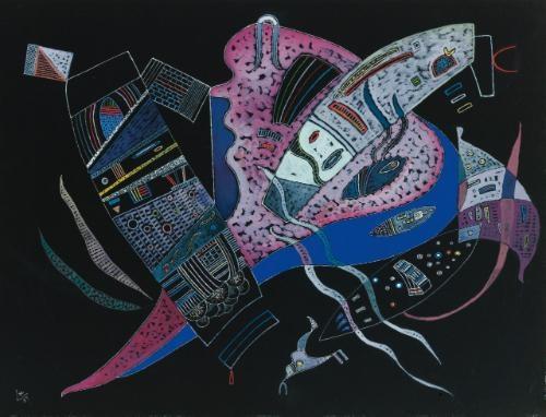 concentré by wassily kandinsky