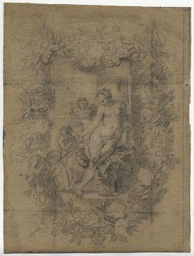 venere e amorini in cornice floreale by jan brueghel the younger