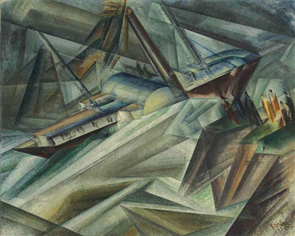der raddampfer iii by lyonel feininger