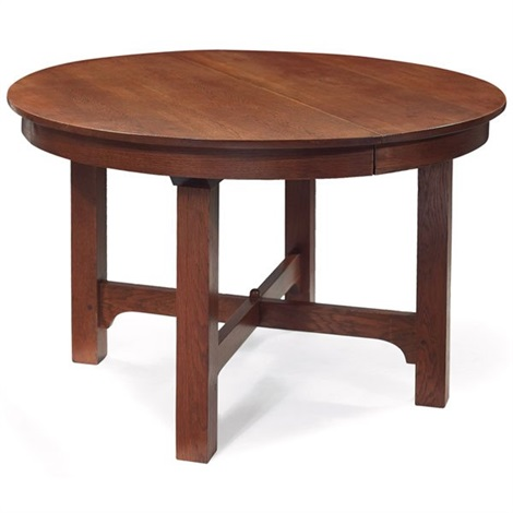 dining table by gustav stickley