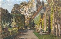 südländischer garten (a mediterranean garden) by tina blau-lang