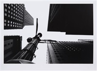 wall street from under, new york by william klein