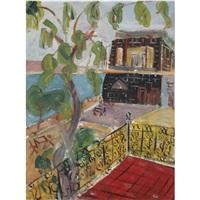 view of tiberias by shimshon holzman