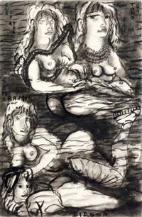 elena didona cleopatra semiramis by tono zancanaro