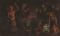 the night festival in djogja by walter spies