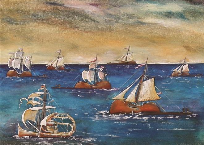 sea voyage by marek brzozowski